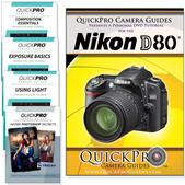 Nikon D80 DVD 5 Pack Intermediate Plus Instructional Bundle