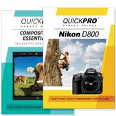 Nikon D800 DVD 2 Pack Composition Instructional Manual Bundle