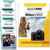 Nikon D800 DVD 5 Pack Intermediate Plus Instructional Bundle