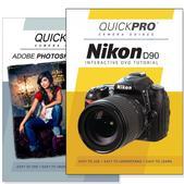 Nikon D90 DVD 2 Pack Adobe Instructional User Manual Bundle