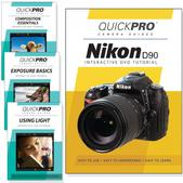 Nikon D90 DVD 4 pack Intermediate Instructional Manual Bundle