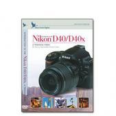Nikon DVD D40 D40X Camera Training Video Guide by Blue Crane Digital