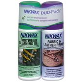 NIKWAX Fabric/Leather and Cleaner, Twin-Pack