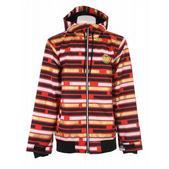 Nomis Hoody Snowboard Jacket Tron Red Print