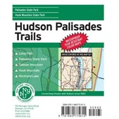 NY-NJ Trail Conference Hudson Palisades Trails Map