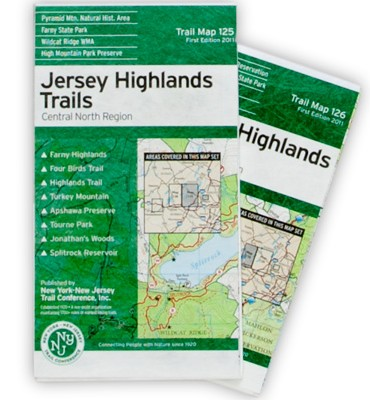 NY NJ TRAIL CONFERENCE Jersey Highlands, Central North