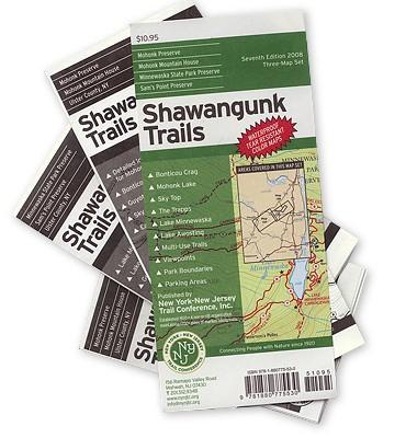 NY/NJ TRAIL CONFERENCE Shawangunk Trails Maps, 2008
