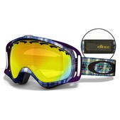 Oakley Danny Kass Signature Crowbar Goggles With Fire Iridium Lens