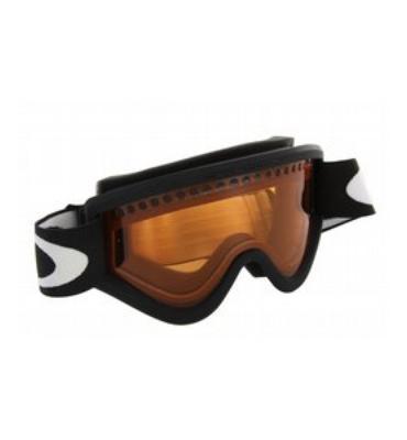 Oakley E Frame Snowboard Goggles Black/Persimmon Lens