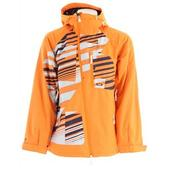 Oakley Performe Snowboard Jacket Orange/Orange Stripe