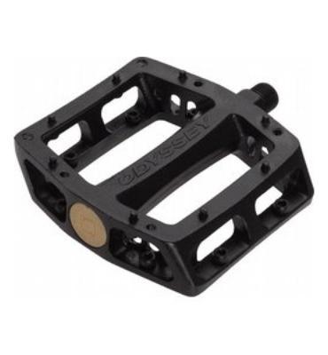 Odyssey JC Trailmix Aluminum Loose Ball Pedals Black
