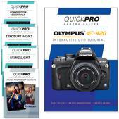 Olympus E-420 DVD 5 Pack Intermediate Plus Instructional Bundle