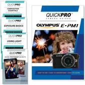 Olympus E-PM1 DVD 5 Pack Intermediate Plus Instructional Bundle