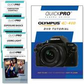 Olypmus E-410 DVD 5 Pack Intermediate Plus Instructional Bundle