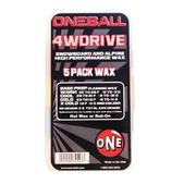 One Ball Jay 4WD Wax 5 Pack Assorted Temperatures
