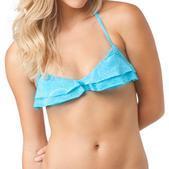 O'Neill Henna Ruffle Triangle Bikini Top - Women's