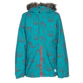 O'Neill Radiant Faux Fur Girls Snowboard Jacket