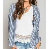 O'neill Women's Nia Long Sleeved Woven Shirt Mystic