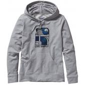 Patagonia Live Simply Landscape Midweight Pullover Hoodie