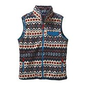 Patagonia Mens Lightweight Synchilla Snap-T Vest - New