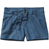 Patagonia Womens Island Hemp Shorts - Sale