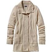 Patagonia Womens Lambswool Sweater Coat - New