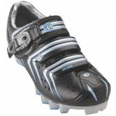 Pearl Izumi Elite MTB II Mountain Bike Shoe - Women's Size 40 Color Black/Silver