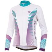Pearl Izumi Elite Thermal LTD Long Sleeve Cycling Jersey - Women's Size L Color FuturisticScubaBlue