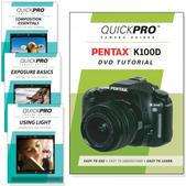 Pentax  K100D DVD 4 pack Intermediate Instructional Manual Bundle
