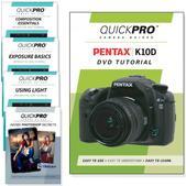 Pentax K10D DVD 5 Pack Intermediate Plus Instructional Bundle