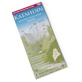 PEREGRINE OUTFITTERS Mount Katahdin, Baxter State Park Map