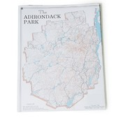 PEREGRINE OUTFITTERS The Adirondack Park Map