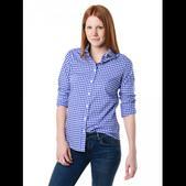 Peter Millar Women's Seaside-Finish Gingham Button-Up Shirt