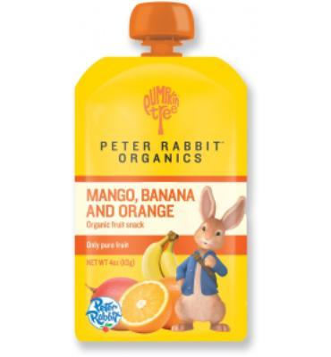 Peter Rabbit Organics Fruit Squeeze Pouch - 4 oz.