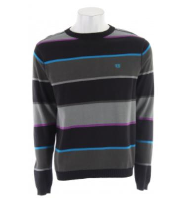 Planet Earth Lineup Sweater Black Stripe