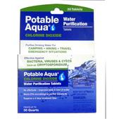 Potable Aqua Chlorine Dioxide Tablets - Package of 30