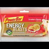 PowerBar Energy Blasts Gel Chews : Strawberry Banana, Box of 12