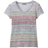 Prana Womens Portfolio V-Neck Short-Sleeve Top - Size XS