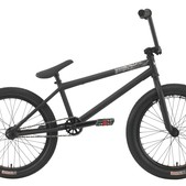 Premium Solo Plus BMX Bike Matte Black 21""