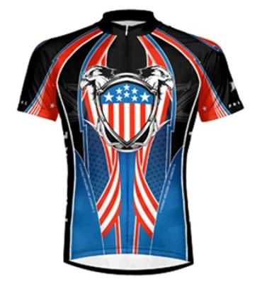 Primal Wear Patriot Cycling Jersey