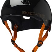 PRO-TEC Bucky Lasek B2 SXP Liner Jet Black Large Skateboard Helmet - CE/CPSC Certified