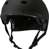 PRO-TEC Christian Hosoi B2 Rising Sun Matte Black X-Large Skateboard Helmet