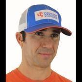Puerto Rico Marathon BOCO Trucker Hat - Men's Size OS Color Blue/White/Orange