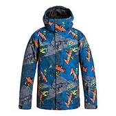 Quiksilver Boys Mission Print Jacket - New