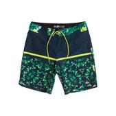 Quiksilver Men's AG47 Half Block 19 Boardshorts Navy/green