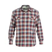 Quiksilver Mens Pescadero Long-Sleeve Flannel Woven Shirt
