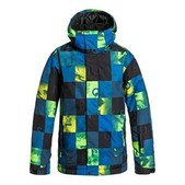 Quiksilver Mission Print Boys Snowboard Jacket