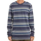 Quiksilver Snit Stripe L/S Stripe in Washed Navy 3