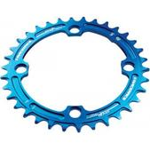 RaceFace Narrow-Wide Single Ring 38t x 104 Blue