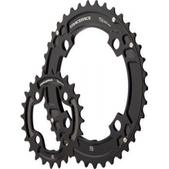 RaceFace Race Face Turbine 10-Speed Chainring Set, 104mm x 64mm 24/38/Spacer Black